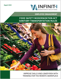 All Industries Safety Management System LMS - Food Safety Modernization Act Sanitary transportation Rules