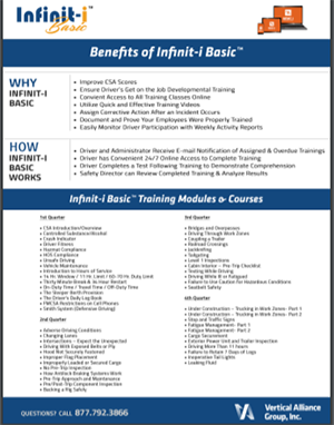 Infinit-I Basic Overview Flyer