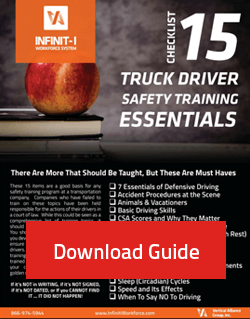 download checklist 15 truck driver safety training topics