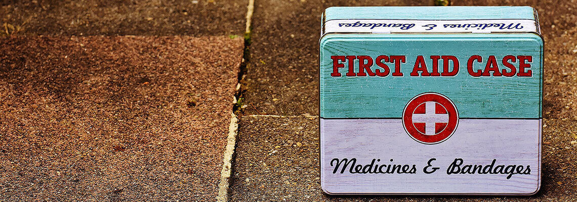 health and first aid header