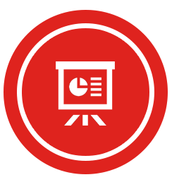 icon manage online training reports