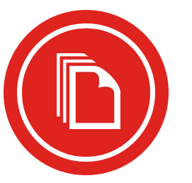 icon stacks of paper employee training assignment plan