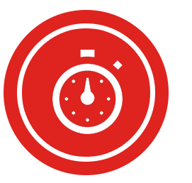 icon stop watch time