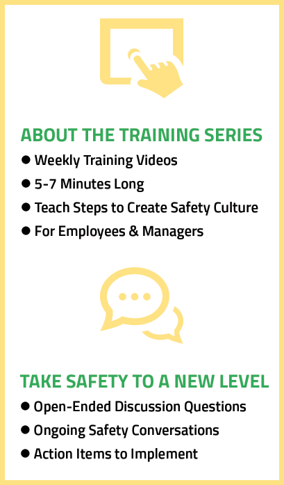 Brian Fielkow Video Safety Training Series - Culture of Safety Excellence