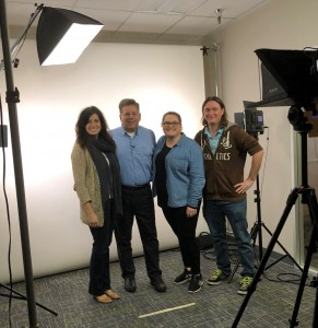 Engage Event Safety Seminar attendees at video studio