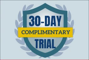 30 day Complimentary Trial formheader