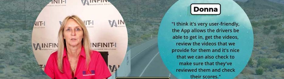 Donna, Director of Safety with EOS Trucking Reviews Infinit-I's #1 Safety Learning Management System LMS Featured Image